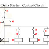 Figure 8 .Star delta starter Control Diagram